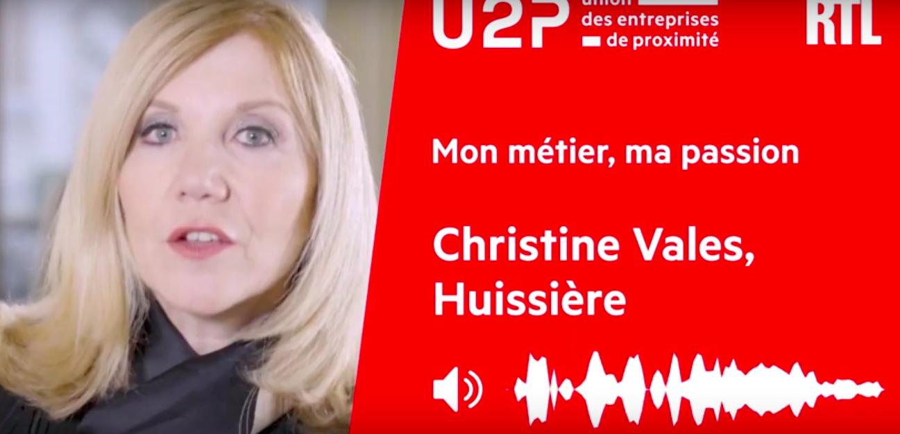 """""""Mon métier, ma passion"""" - Christine Vales, Huissière de justice 2"""