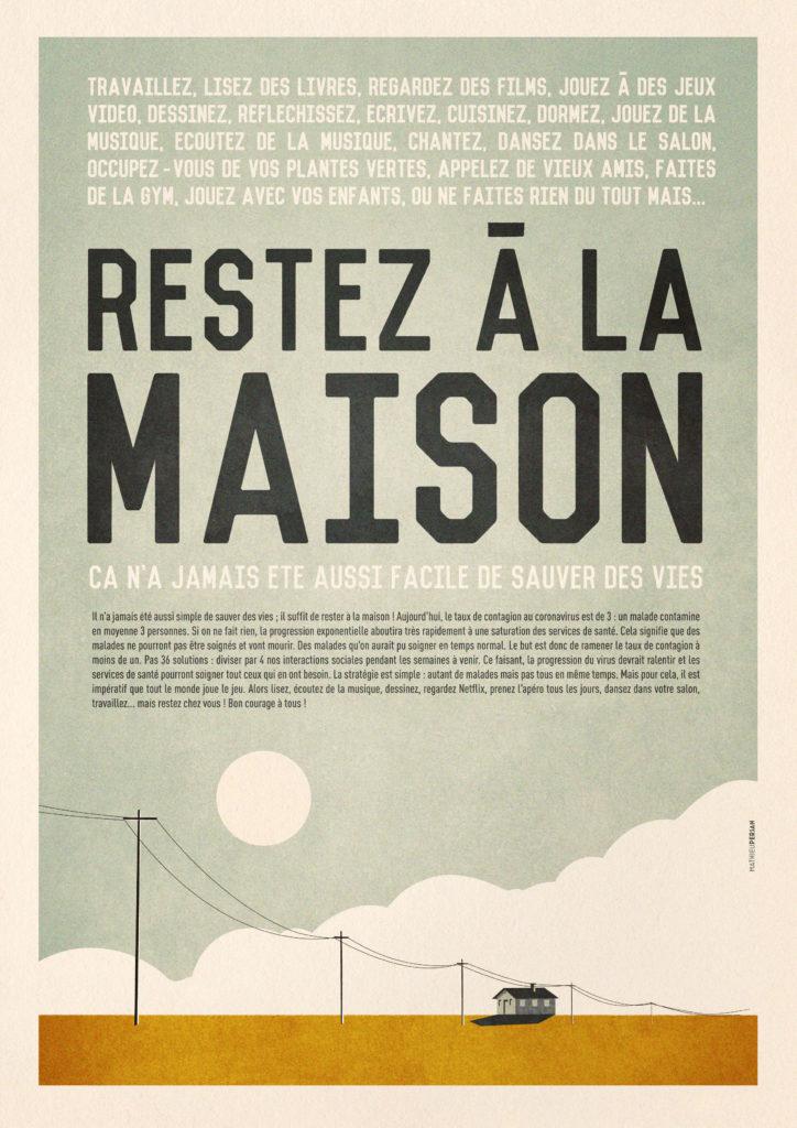 RESTEZ À LA MAISON ! 1